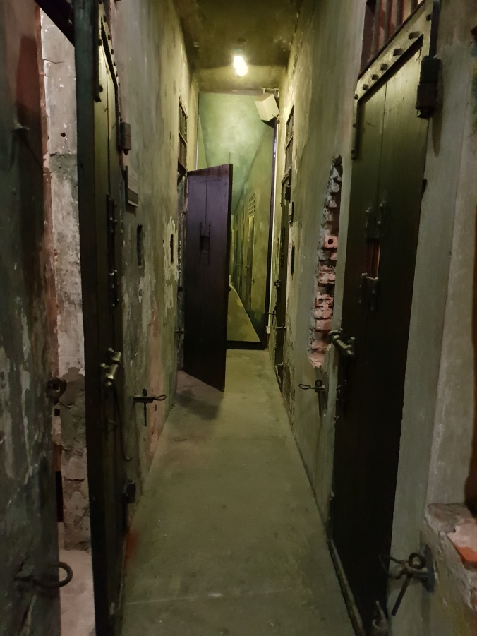 Hoa Lo Prison's death row cells