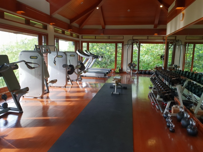 Amanpulo gym