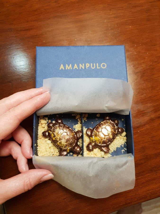 Amanpulo chocolate turtles