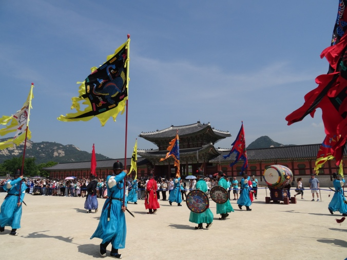 Gyeongbokgung Palace - changing of the guard