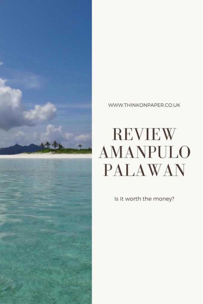 Review amanpulo palawan