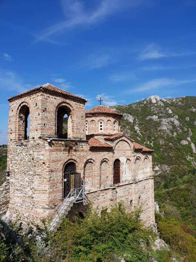 The church at Asen's Fortress, Bulgaria