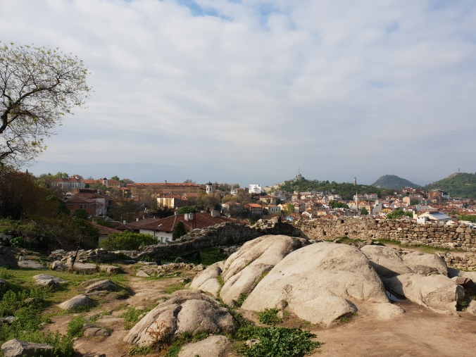 Nebet Tepe, looking over Plovdiv