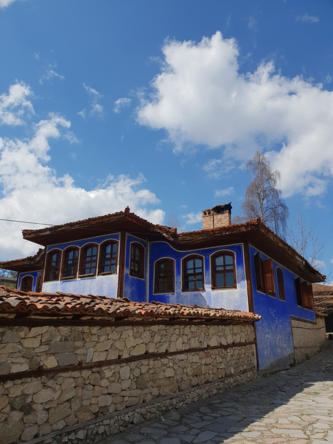 Traditional houses in Koprivshtitsa