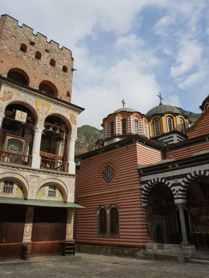 The Hreliova Tower, Rila Monastery