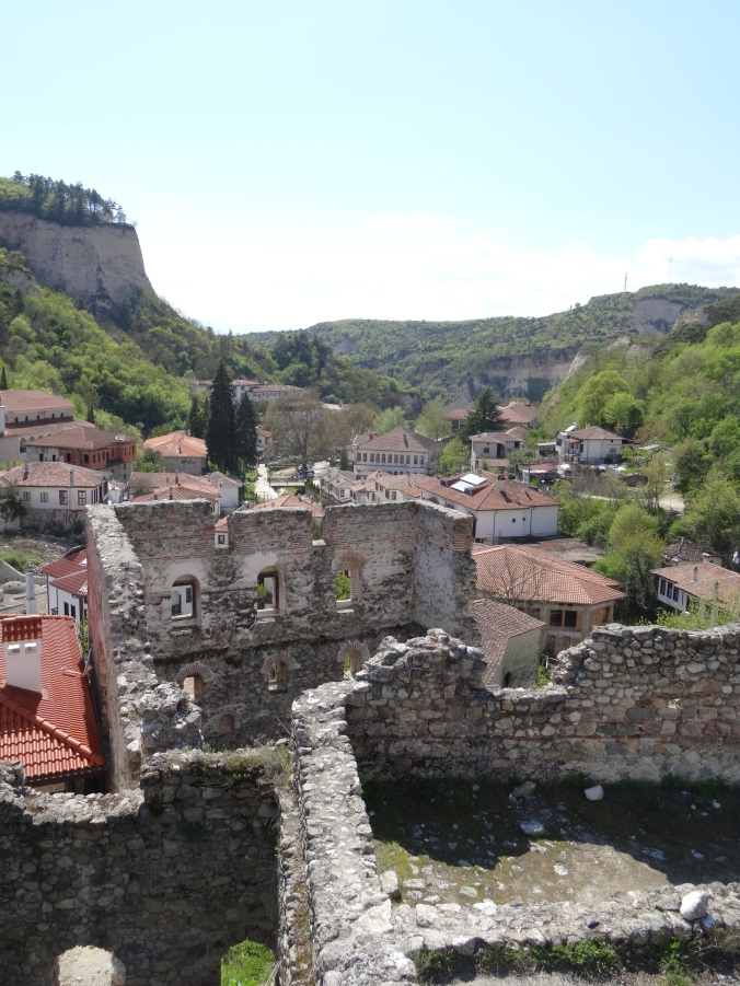 Ruins in Melnik