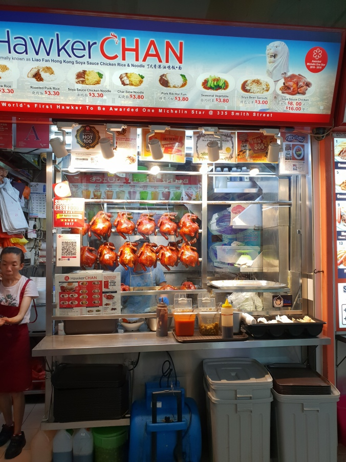 Hawker Chan in Chinatown Hawker Centre, Singapore