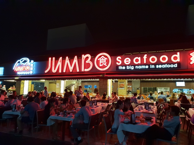 Jumbo Seafood East Coast, Singapore