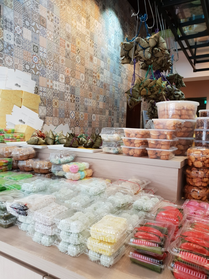 Inside a sweet shop in Geylang, Singapore