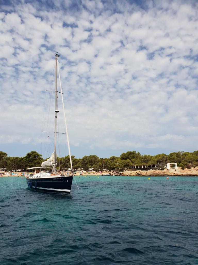 Ibiza by boat