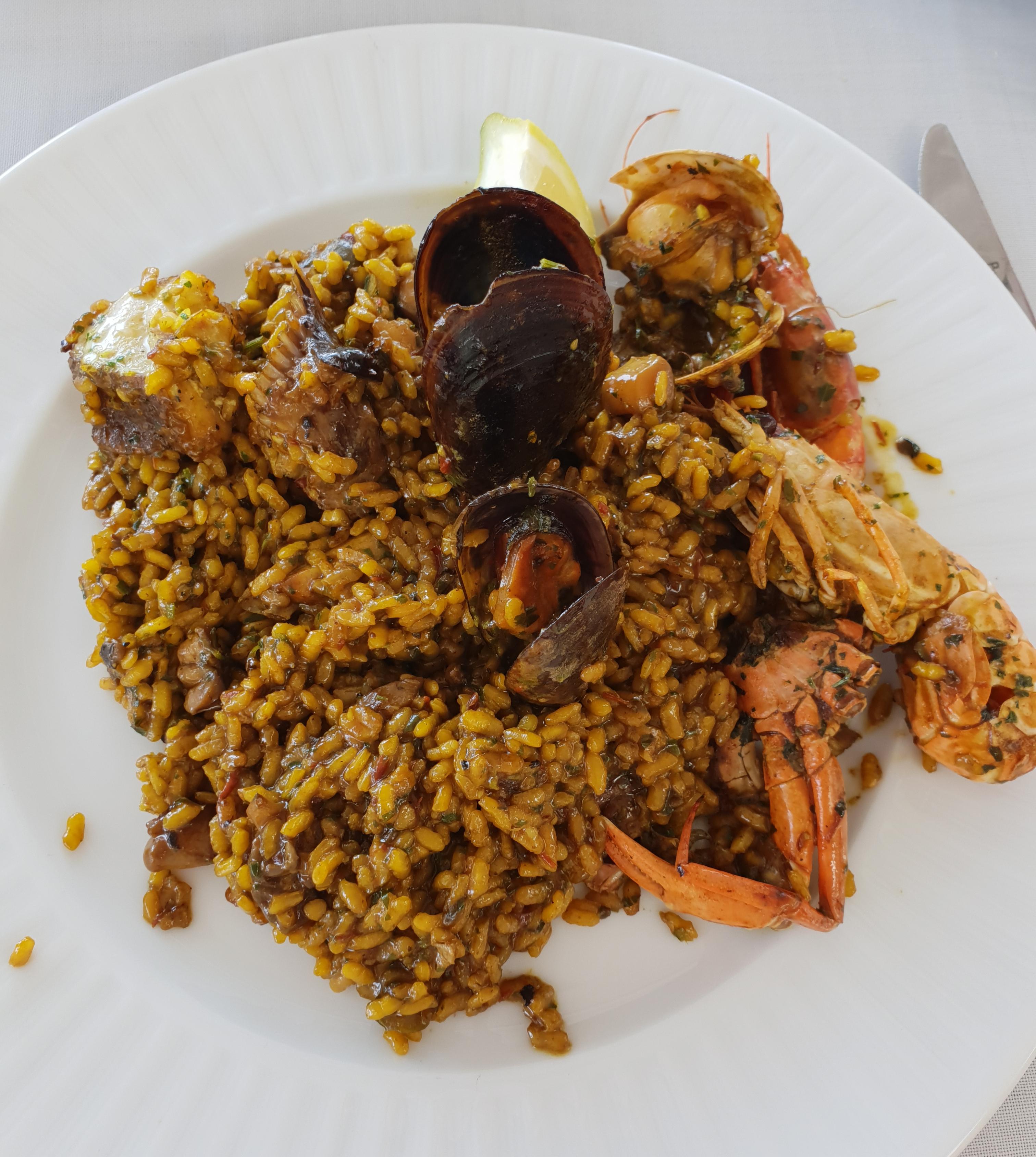 Paella Ibiza