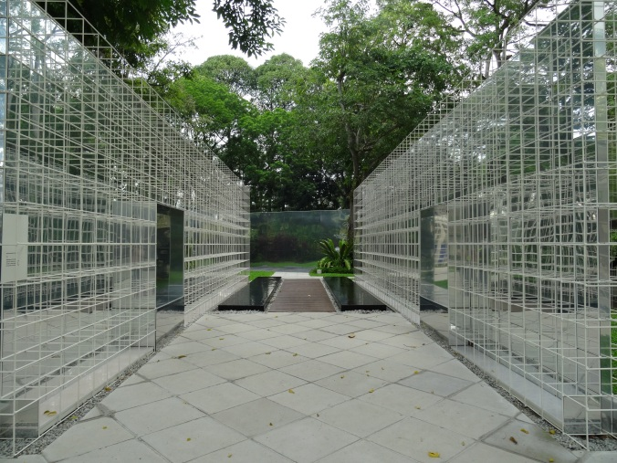 Art installations at Fort Canning Park