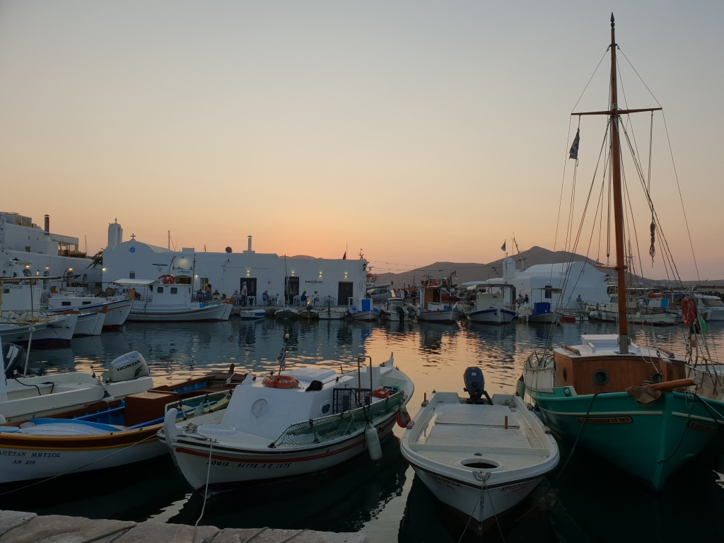Naousa port, Paros