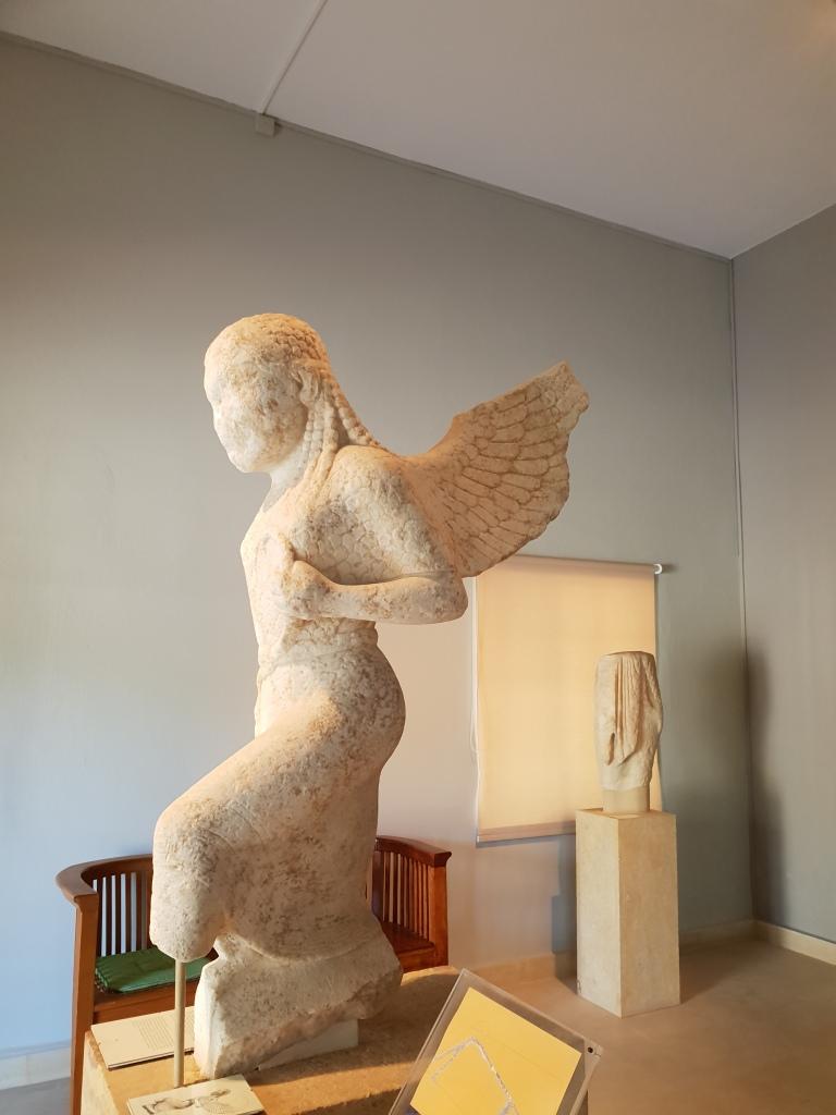 Gorgon Paros archaeological museum