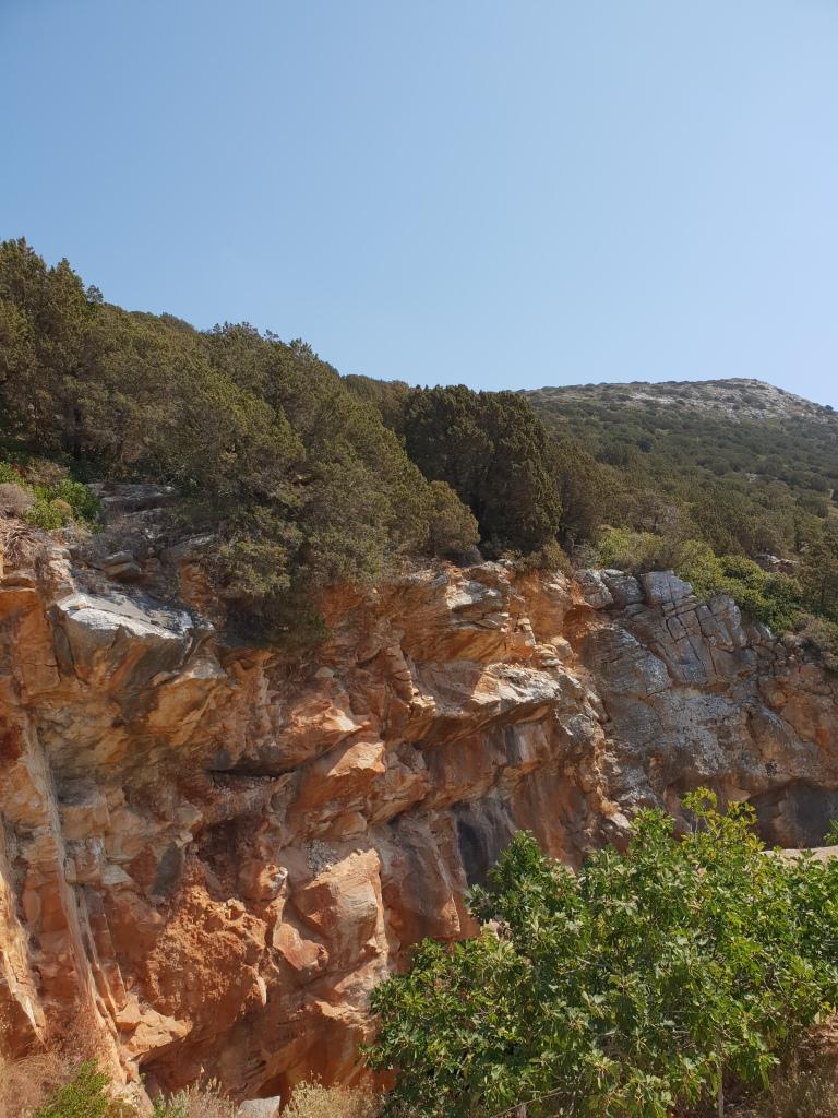 Ancient marble quarries Marathi, Paros