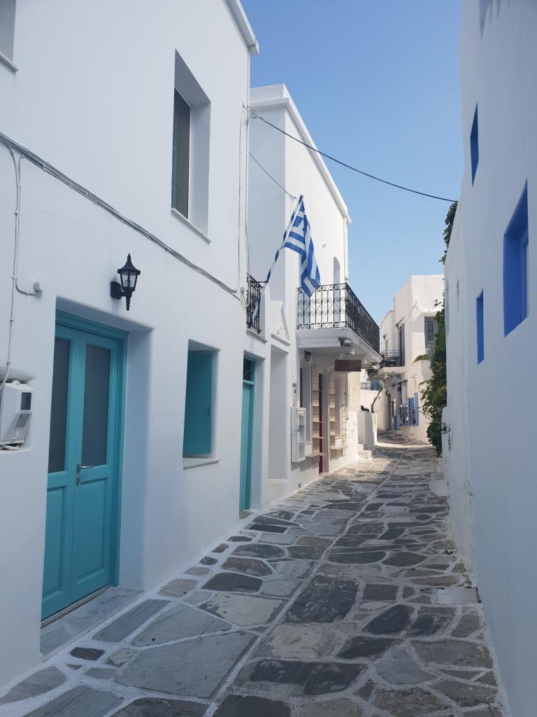 Streets of Lefkes, Paros