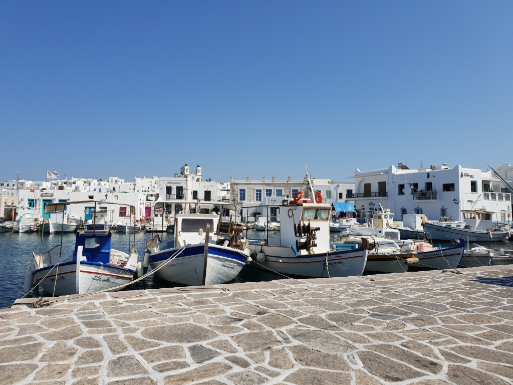 Naousa harbour, Paros
