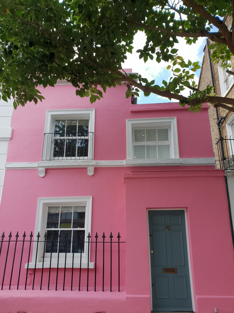 Pink house Coulson Street, Chelsea