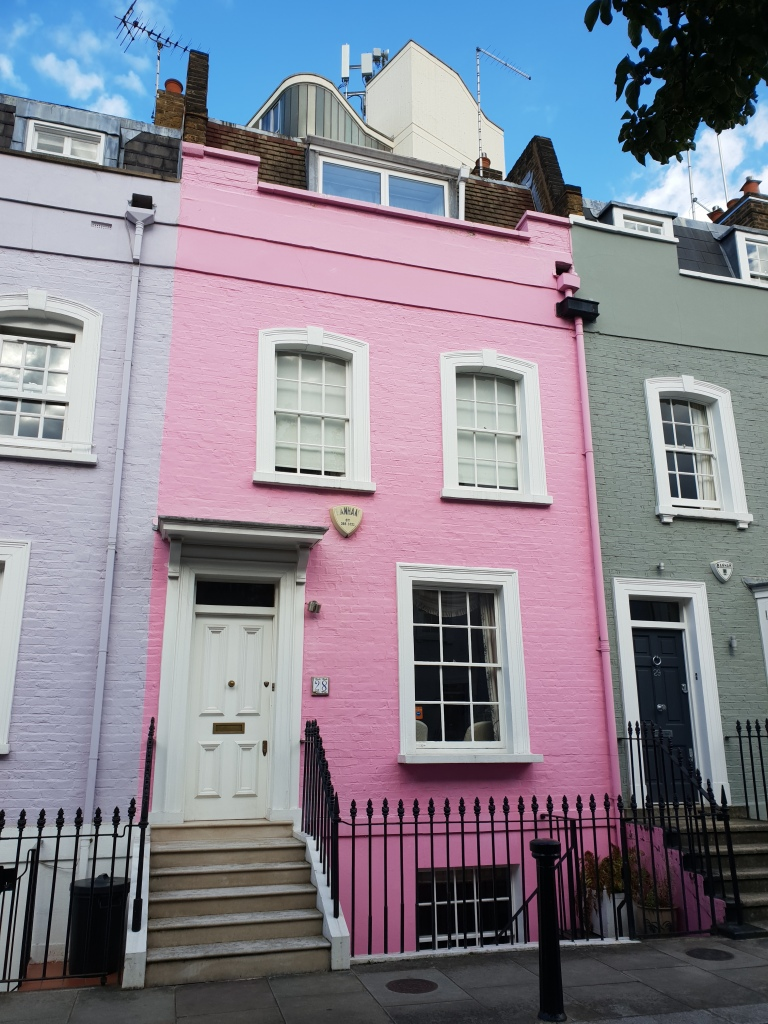 Bywater Street pink house, Chelsea