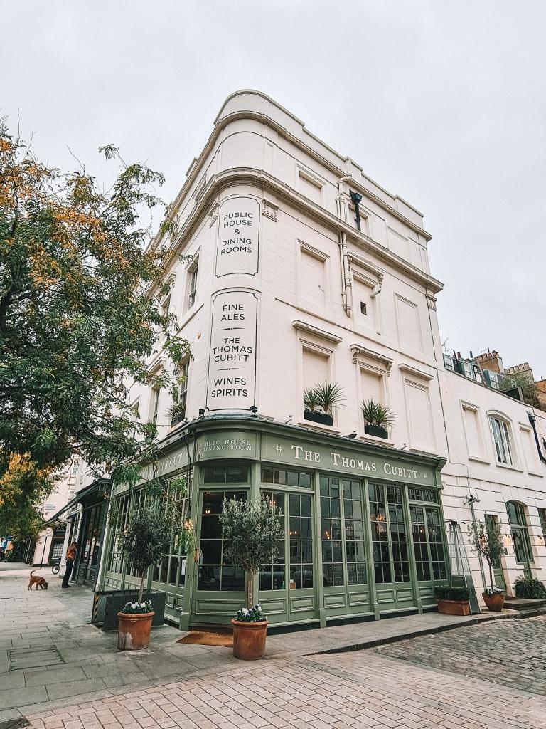 The Thomas Cubitt Pub, Belgravia