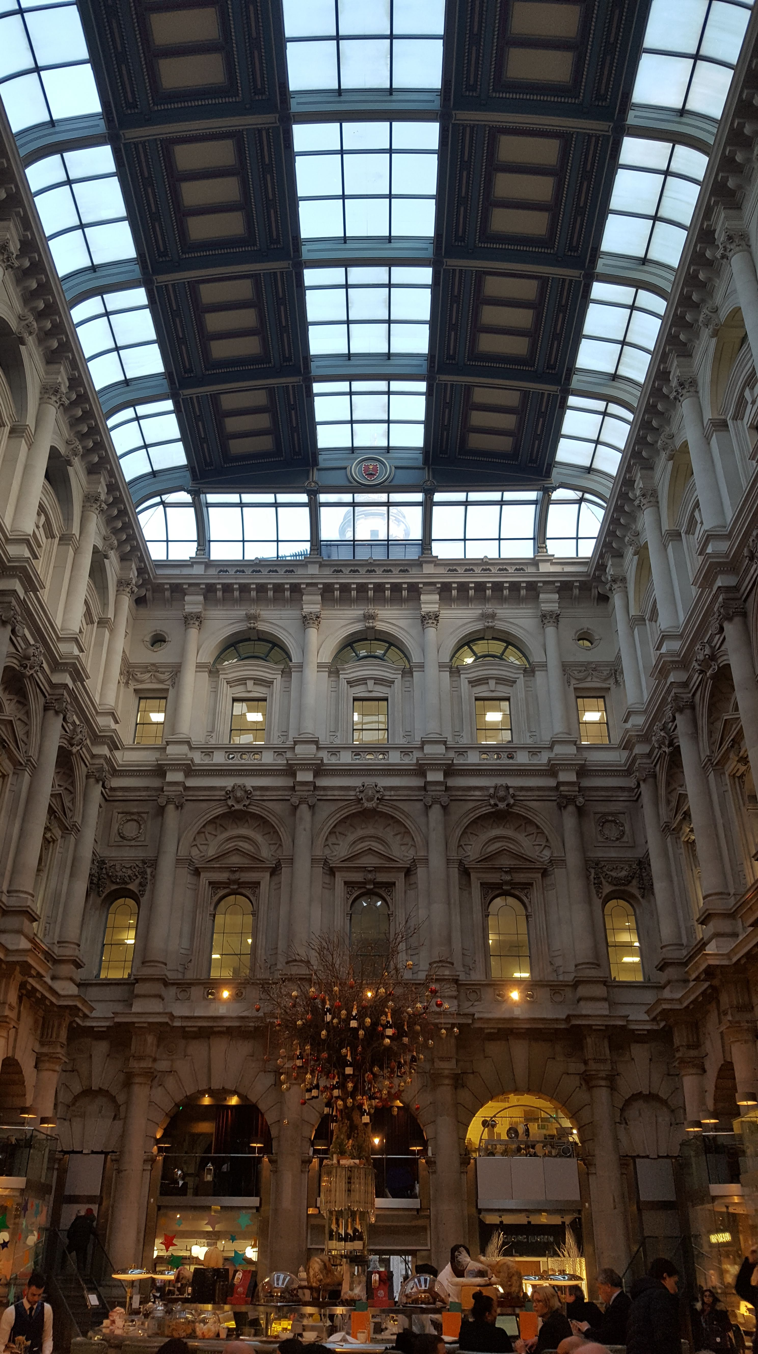 The Royal Exchange at Christmas