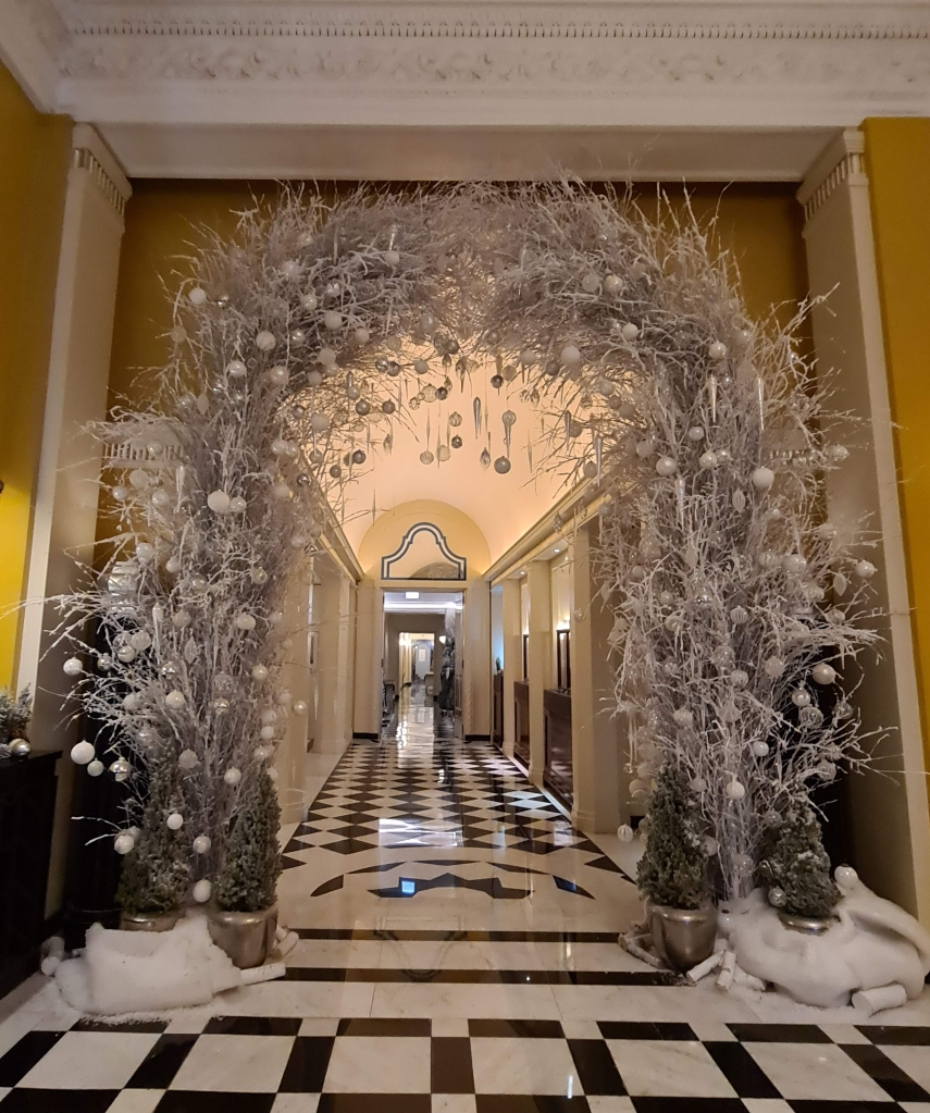 Claridges Hotel Christmas