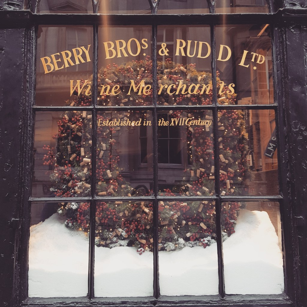 Berry Bros. & Rudd at Christmas
