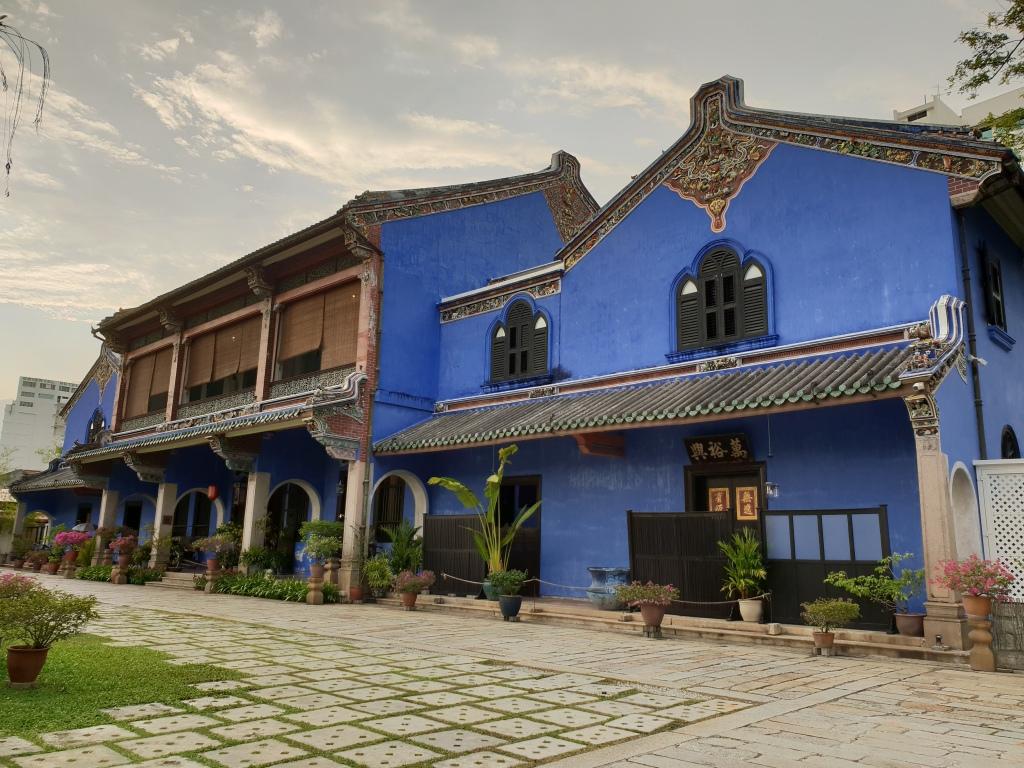 Cheong Fatt Tze, Blue Mansion